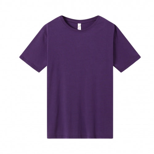 MENS Bamboo Cotton S/S Tee | UPF Protection Shirt - Purple