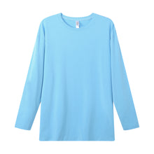 Load image into Gallery viewer, MENS Bamboo Cotton L/S Tee | UPF Protection Shirt - French Blue