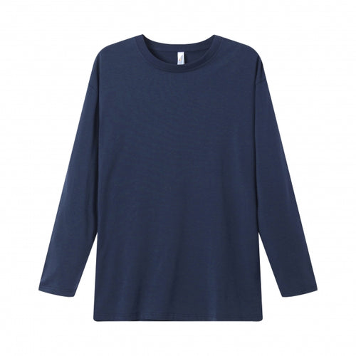 MENS Bamboo Cotton L/S Tee | UPF Protection Shirt - Navy