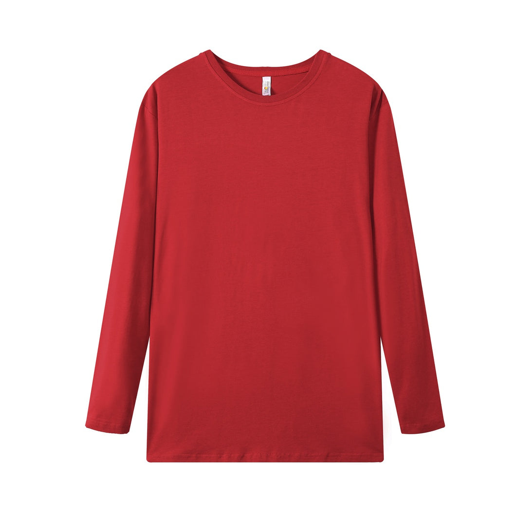 MENS Bamboo Cotton L/S Tee | UPF Protection Shirt - Red
