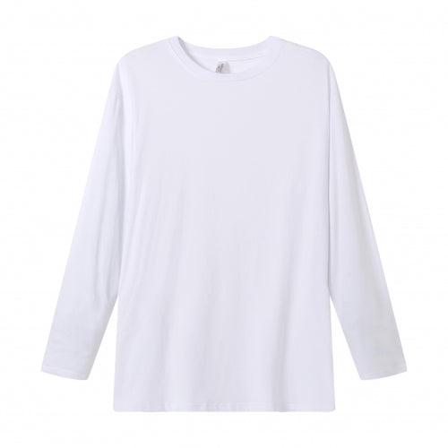 MENS Bamboo Cotton L/S Tee | UPF Protection Shirt - White