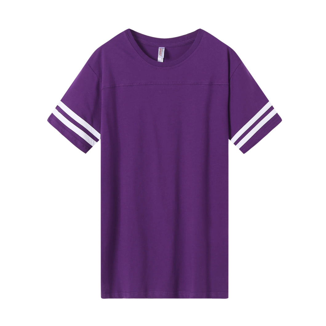 MENS Varsity Game Day S/S Tee -Purple