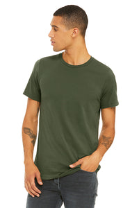 MENS 100% Cotton S/S Tee - Khaki Green
