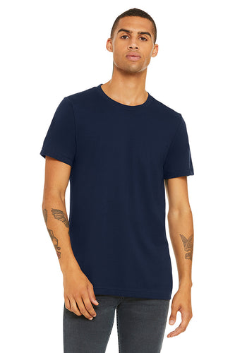 MENS 100% Cotton S/S Tee - Navy