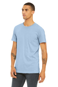 MENS 100% Cotton S/S Tee - Sky Blue