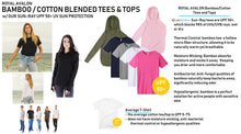 Load image into Gallery viewer, WOMENS Bamboo Cotton L/S Tee | UPF Protection Shirt - Honeydew