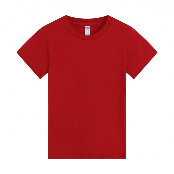 BABY Super Soft 100% Cotton Ring Spun Tee - Red