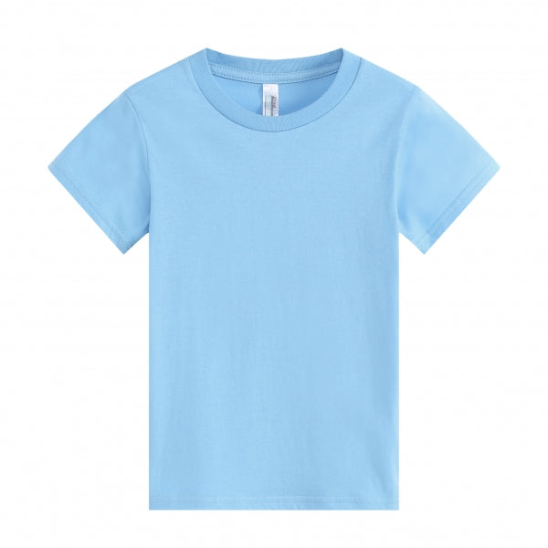BABY Super Soft 100% Cotton Ring Spun Tee - Sky Blue