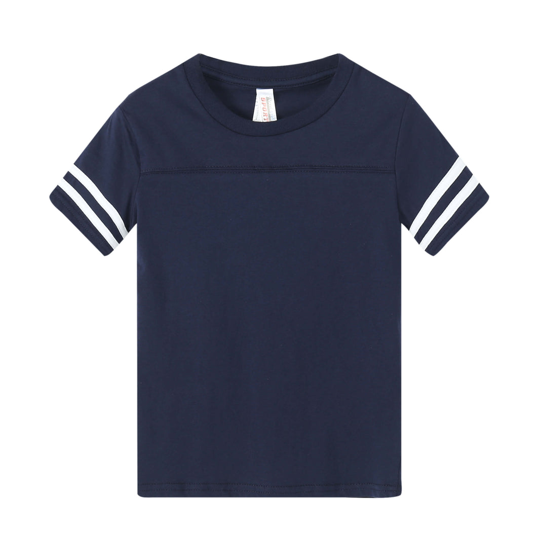 TODDLER Varsity Game Day S/S Tee - Navy