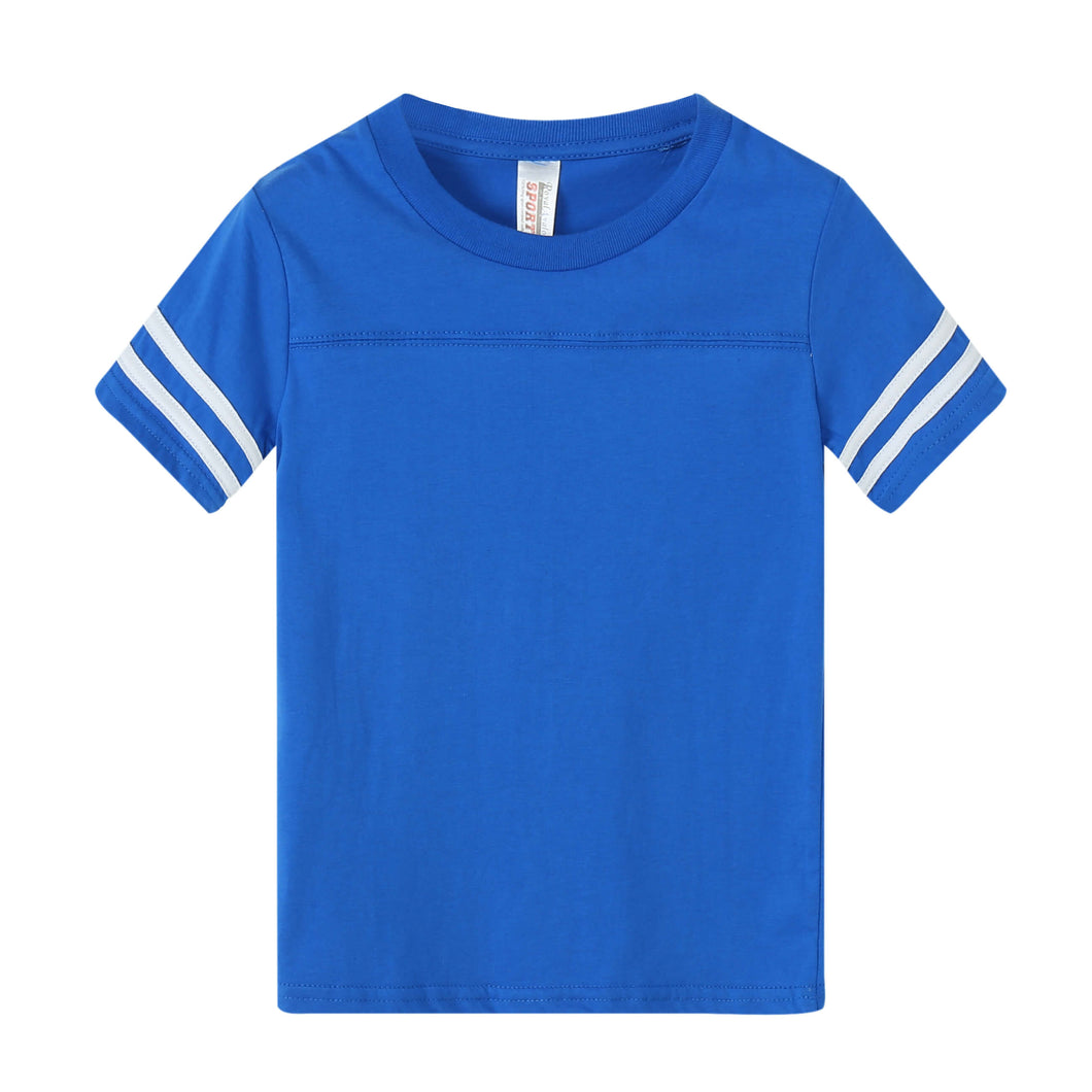 TODDLER Varsity Game Day S/S Tee - Royal Blue