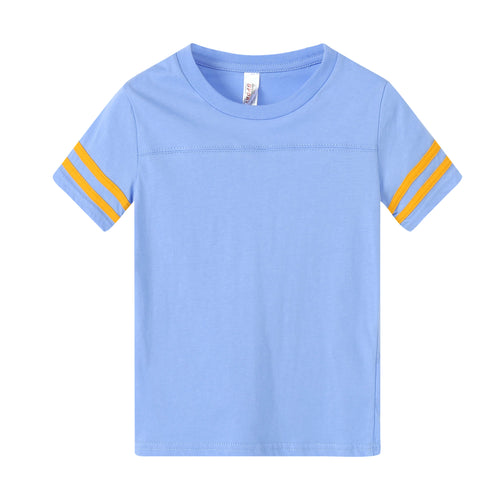 TODDLER Varsity Game Day S/S Tee - Sky Blue