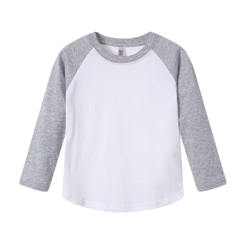 TODDLER Raglan L/S Top Heather