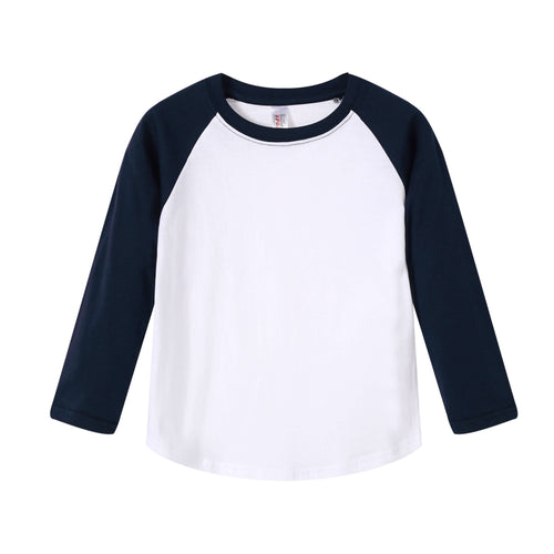 TODDLER Raglan L/S Top  Navy