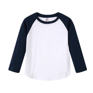 YOUTH Raglan L/S Top - Navy