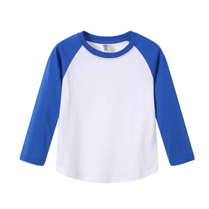 TODDLER Raglan L/S Top  Royal Blue