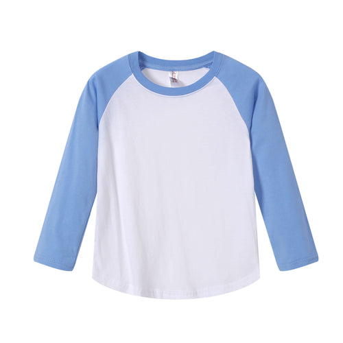 TODDLER Raglan L/S Top  Sky Blue