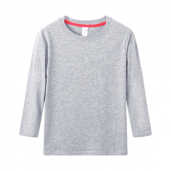 TODDLER Bamboo Cotton L/S Tee | UPF Protection Shirt - Heather