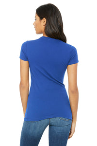 WOMENS 100% Cotton S/S Tee - Royal Blue