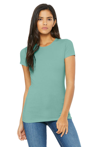 WOMENS 100% Cotton S/S Tee - Seafoam