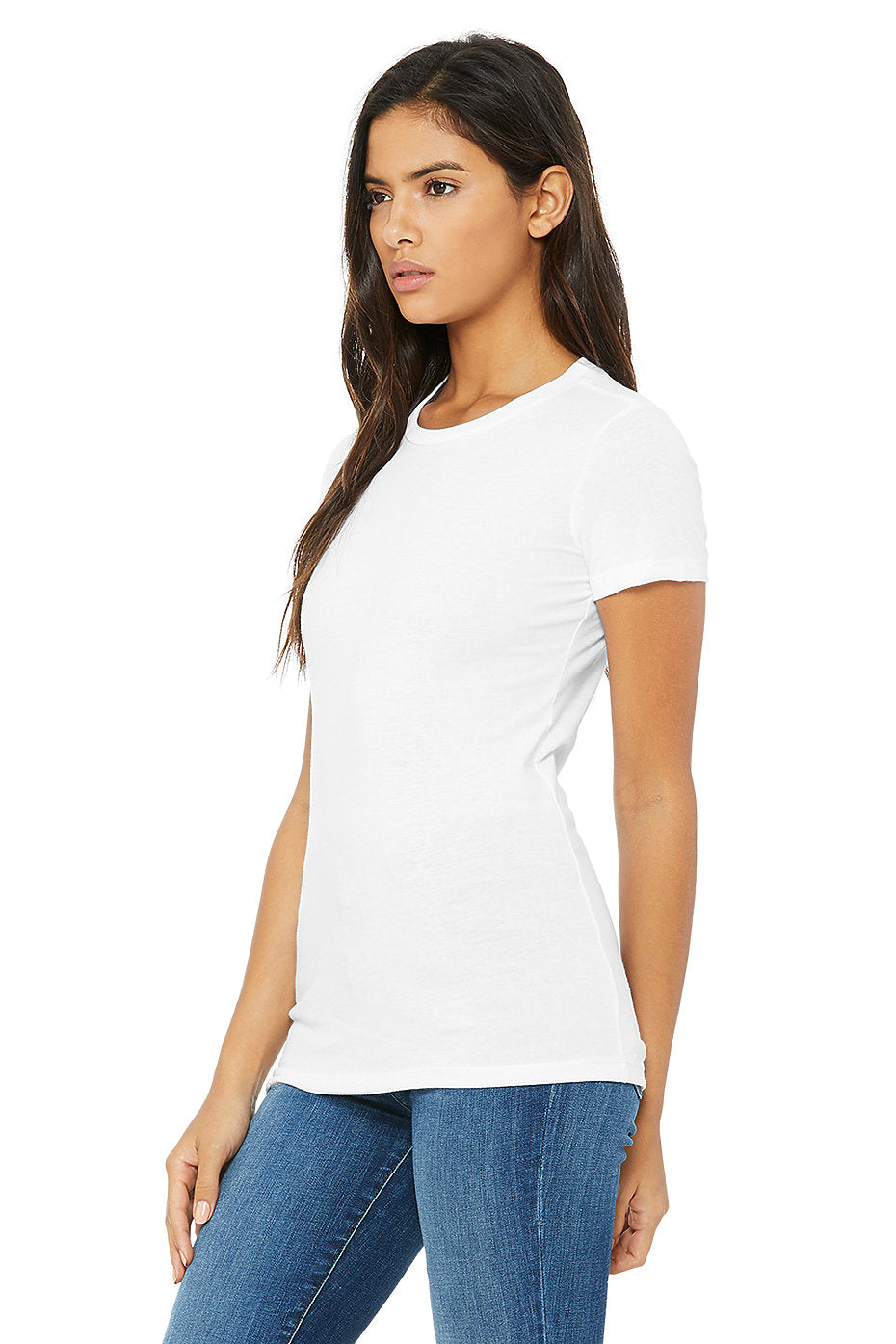 WOMENS 100% Cotton S/S Tee - White