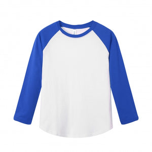 YOUTH Raglan L/S Top - Royal Blue