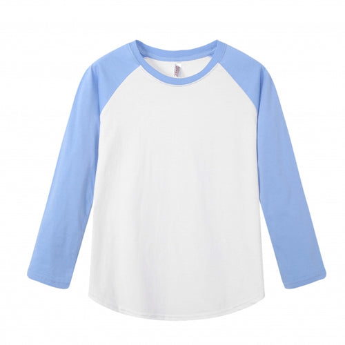 YOUTH Raglan L/S Top - Sky Blue