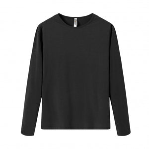 YOUTH Bamboo Cotton L/S Tee | UPF Protection Shirt - Black