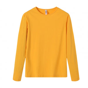 YOUTH Bamboo Cotton L/S Tee | UPF Protection Shirt - Orange