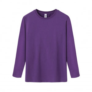 YOUTH Bamboo Cotton L/S Tee | UPF Protection Shirt - Purple