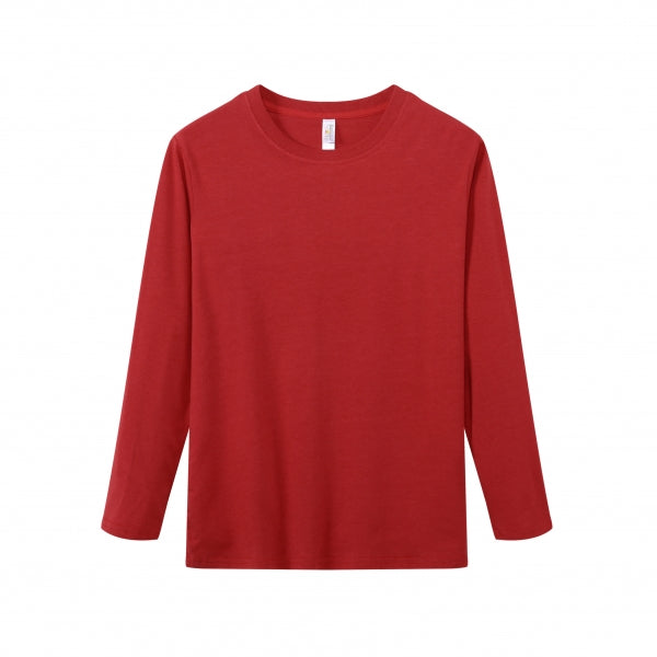 YOUTH Bamboo Cotton L/S Tee | UPF Protection Shirt - Red