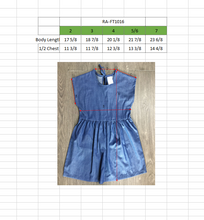 Load image into Gallery viewer, TODDLER Denim Sleeveless Dress Light Wash