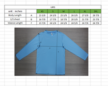 Load image into Gallery viewer, WOMENS Bamboo Cotton L/S Tee | UPF Protection Shirt - Sky Blue