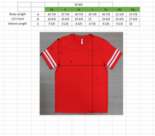 Load image into Gallery viewer, MENS Varsity Game Day S/S Tee -Red