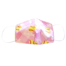 Softball Face Mask Cotton Pink