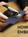 How to Use an ExcelMark Embosser