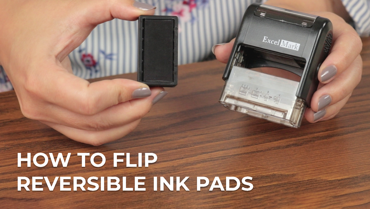 How to Flip an ExcelMark Self-Inking Ink Pad