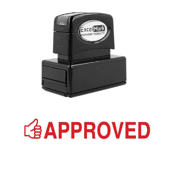 Thumbs Up APPROVED Stamp