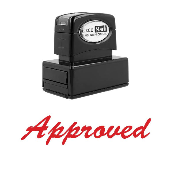 Script Approved Stamp