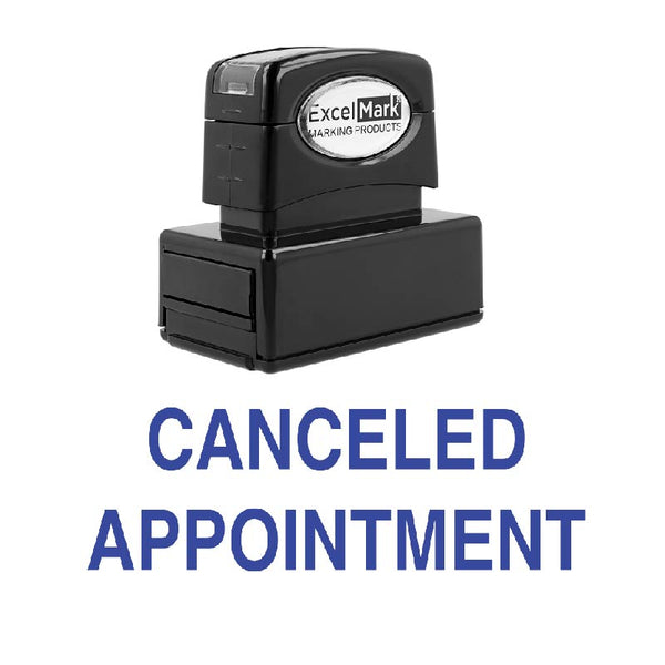 CANCELED APPOINTMENT Stamp