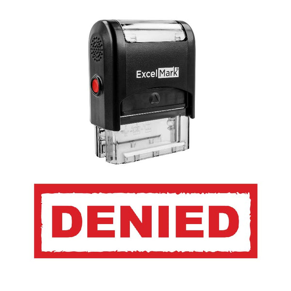 Box DENIED Stamp