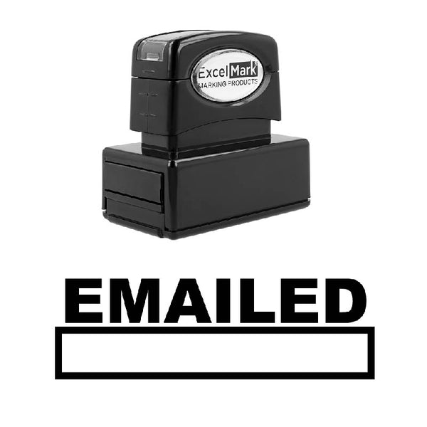 Box EMAILED Stamp