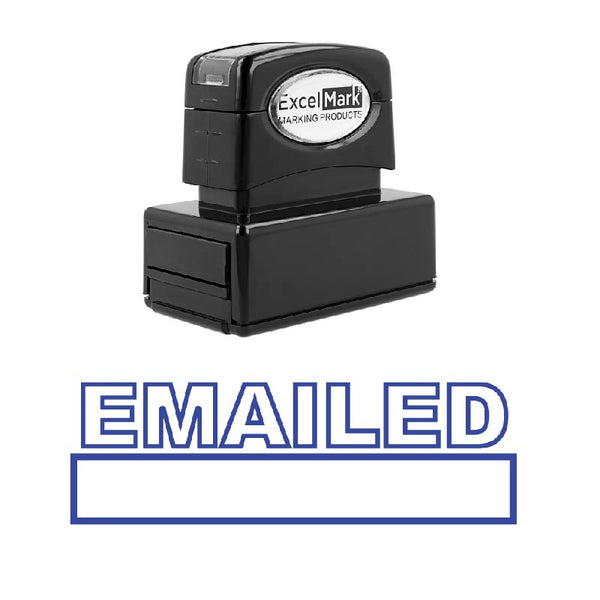 Outline EMAILED Stamp
