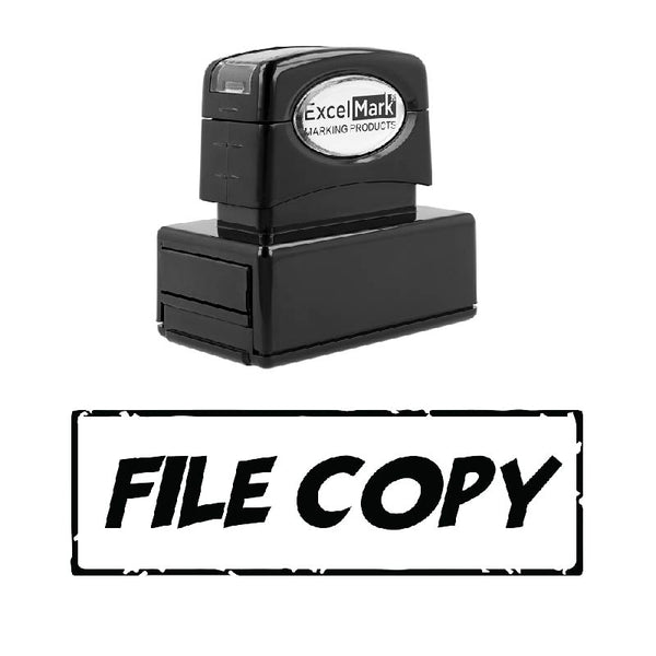 Box FILE COPY Stamp