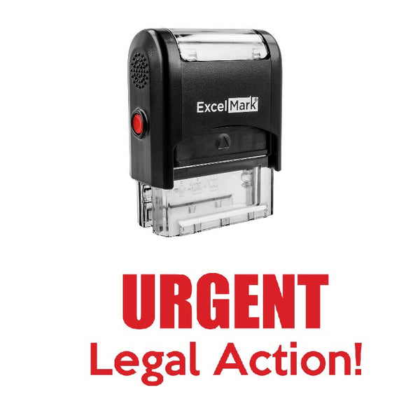 URGENT Legal Action! Stamp
