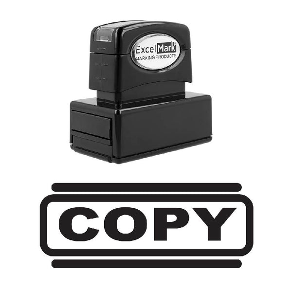 Double Line COPY Stamp