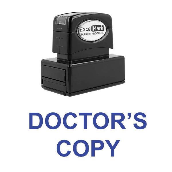 DOCTOR'S COPY Stamp