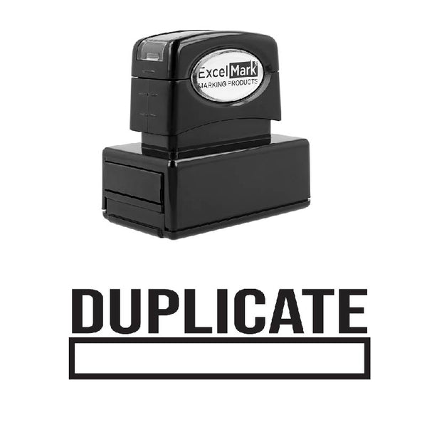 Box DUPLICATE Stamp