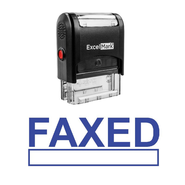 Box FAXED Stamp