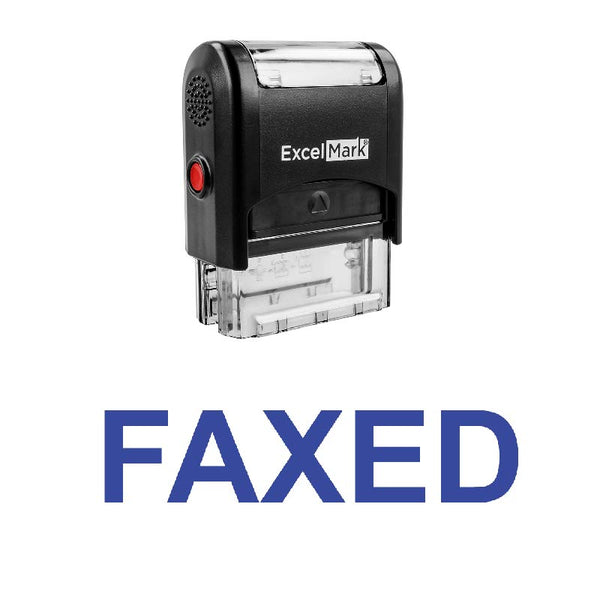 FAXED Stamp