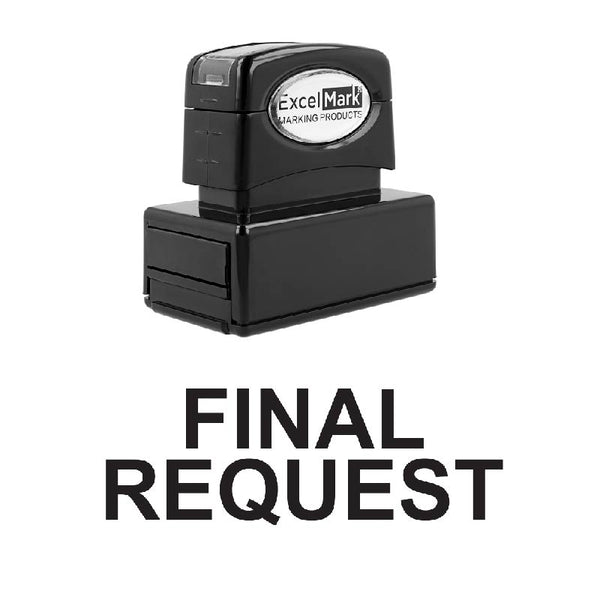 FINAL REQUEST Stamp